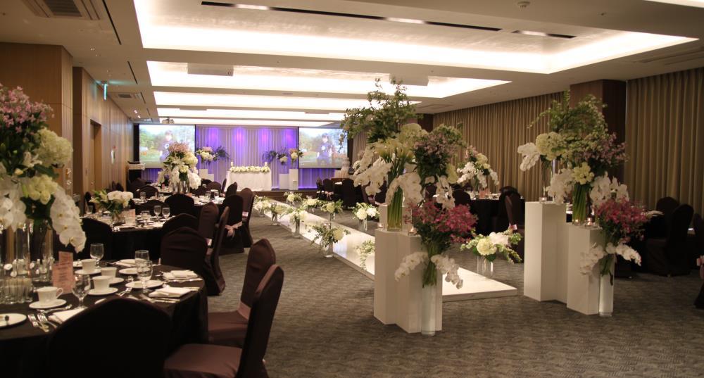 코리아나호텔 웨딩홀 사진
